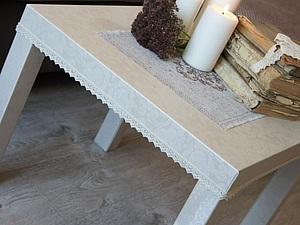 Новый облик столика из Икеи за 2 часа. Ярмарка Мастеров - ручная работа, handmade.