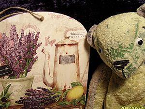 Люк - лавандовый мишка из Прованса | Ярмарка Мастеров - ручная работа, handmade