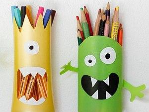 Органайзер для карандашей | Ярмарка Мастеров - ручная работа, handmade
