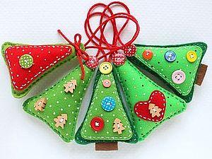 Елочные игрушки 2014   Ярмарка Мастеров - ручная работа, handmade