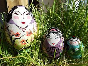 Мастер-класс по росписи японской куклы Кокэси.   Ярмарка Мастеров - ручная работа, handmade