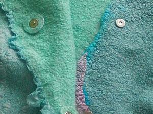 Мини мастер класс: вставляем кнопки-магниты в одежду из войлока. Ярмарка Мастеров - ручная работа, handmade.