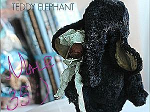 Конфетка от Эли Волковой Candy- Teddy elephant. | Ярмарка Мастеров - ручная работа, handmade