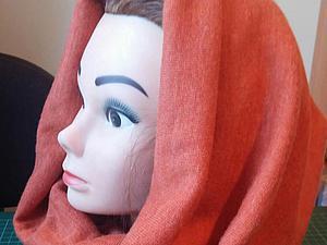 Шьем шарф-снуд из трикотажного полотна. Ярмарка Мастеров - ручная работа, handmade.