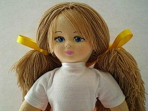 Мастер-класс: рождение куколки «Glorex». Часть вторая | Ярмарка Мастеров - ручная работа, handmade