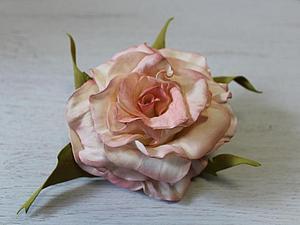 Мастер-класс «Роза-королева цветов».   Ярмарка Мастеров - ручная работа, handmade