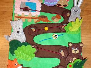 Шьем пальчиковые игрушки. Сказка «Колобок». Ярмарка Мастеров - ручная работа, handmade.