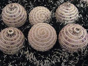 Елочное украшение | Ярмарка Мастеров - ручная работа, handmade