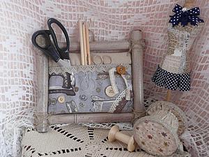 Переделываем интерьерную картину в удобный органайзер для рукоделия. Ярмарка Мастеров - ручная работа, handmade.