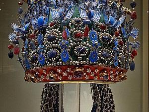 Китайская корона феникса. Ярмарка Мастеров - ручная работа, handmade.