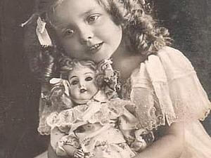 Любителям антикварных кукол. Ярмарка Мастеров - ручная работа, handmade.