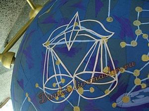 Создаем звездное небо на большом глобусе. Ярмарка Мастеров - ручная работа, handmade.