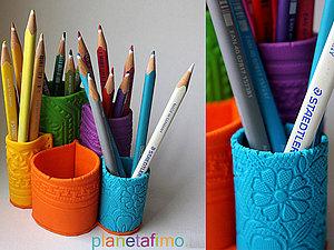 Органайзер из полимерной глины | Ярмарка Мастеров - ручная работа, handmade