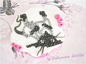Мастер-класс Вышивка на полимерной глине «Кот». Ярмарка Мастеров - ручная работа, handmade.