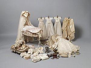 История куклы и кукольного платья. Ярмарка Мастеров - ручная работа, handmade.