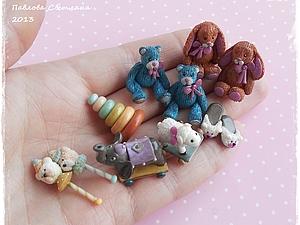 Миниатюрные Ретро-игрушки | Ярмарка Мастеров - ручная работа, handmade
