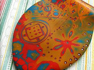 Мастер-класс по полимерной глине: мокуме гане | Ярмарка Мастеров - ручная работа, handmade