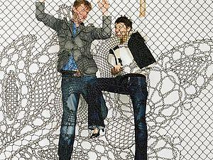Сетчатые ограды как произведение искусства. | Ярмарка Мастеров - ручная работа, handmade