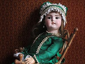 ПРОДАНA.Экспортный молд немецкой антикварной куколки  фабрики Simon & Halbig. | Ярмарка Мастеров - ручная работа, handmade