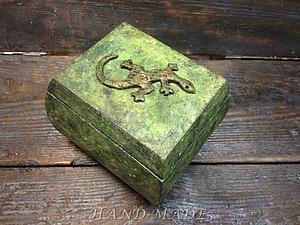 Шкатулка «Уральские сказы» - имитация натурального камня!   Ярмарка Мастеров - ручная работа, handmade