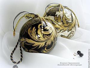 Новогодние шары - моя любовь! | Ярмарка Мастеров - ручная работа, handmade