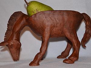 Преукрашенная лошадка. | Ярмарка Мастеров - ручная работа, handmade