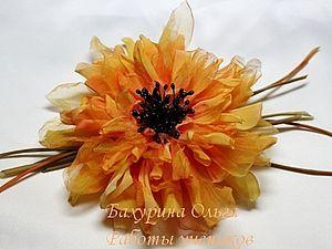 Цветы из ткани.Мастер-класс.Обучение цветоделию. | Ярмарка Мастеров - ручная работа, handmade
