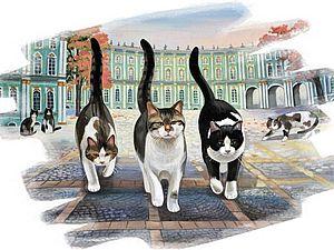 Эрмитажные коты: в жизни и в искусстве | Ярмарка Мастеров - ручная работа, handmade