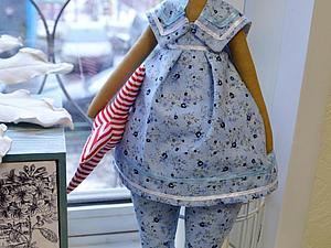 МК по шитью кукол Тильда