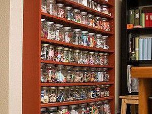 Идеи хранения в мастерской рукодельницы. Ярмарка Мастеров - ручная работа, handmade.