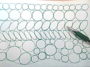 Тренировка рисования от руки. Ярмарка Мастеров - ручная работа, handmade.