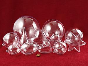 Вторая предновогодняя закупка пластиковых шаров - большие размеры круглых шариков!:) | Ярмарка Мастеров - ручная работа, handmade