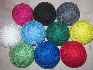 Новые цвета ниток