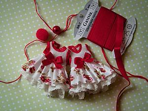 Шьем платье на маленькую куклу | Ярмарка Мастеров - ручная работа, handmade