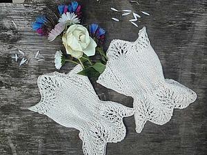Мастер-класс по вязанию митенок для невесты. Ярмарка Мастеров - ручная работа, handmade.