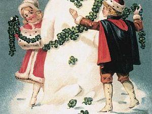 Винтажный Новый Год в открытках... | Ярмарка Мастеров - ручная работа, handmade