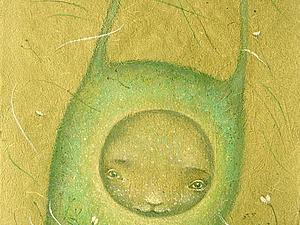 Рисуем пастелью Травяного жителя. Первое занятие курса из трех уроков!   Ярмарка Мастеров - ручная работа, handmade
