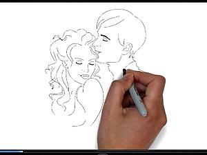 День Влюбленных - рисованное видео   Ярмарка Мастеров - ручная работа, handmade