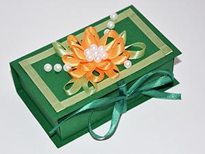 Мастерим коробочку-шкатулку для подарка | Ярмарка Мастеров - ручная работа, handmade