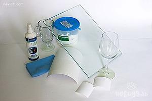 Применение матирующей пасты для обработки стекол | Ярмарка Мастеров - ручная работа, handmade