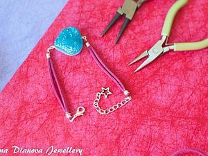 Изготовление браслета с использованием техники Wire Work. Ярмарка Мастеров - ручная работа, handmade.