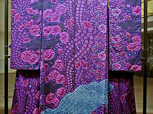Выставка японского кимоно работы выдающегося японского мастера Итику Куботы   Ярмарка Мастеров - ручная работа, handmade