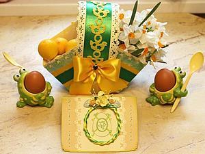 Пасхальная корзинка | Ярмарка Мастеров - ручная работа, handmade