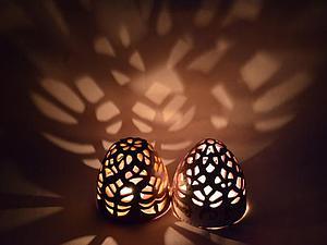 Колокольчики-подсвечники. на фото-работы учеников | Ярмарка Мастеров - ручная работа, handmade