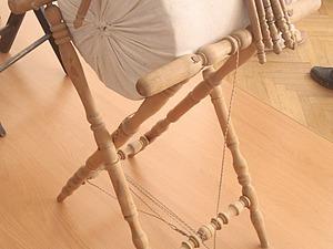 Оборудование для кружевоплетения: подставка под валик. Минусы и плюсы. Ярмарка Мастеров - ручная работа, handmade.