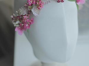 Мой новый цветочный веночек. | Ярмарка Мастеров - ручная работа, handmade