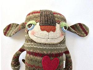 Новые игрушки из старых свитеров: творческий подход Amanda Katzenmeyer | Ярмарка Мастеров - ручная работа, handmade