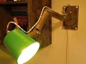 Как сделать регулируемый светильник на стену. Ярмарка Мастеров - ручная работа, handmade.