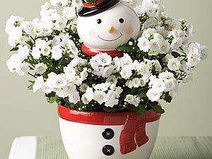 Забавные снеговички :)   Ярмарка Мастеров - ручная работа, handmade