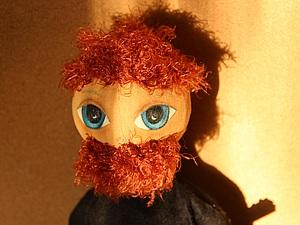 Первая кукла тыквоголовка | Ярмарка Мастеров - ручная работа, handmade